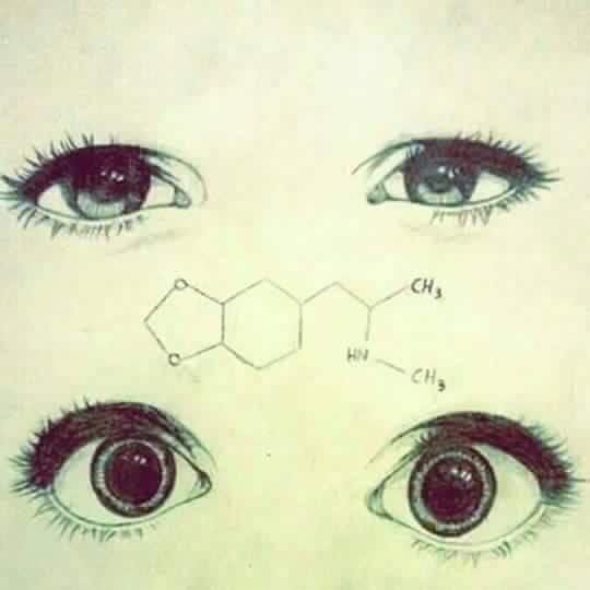 Esos ojos psicoquímicos