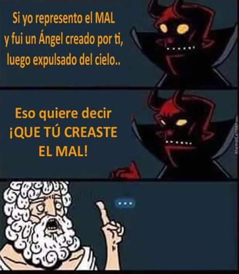 Tu creaste el mal