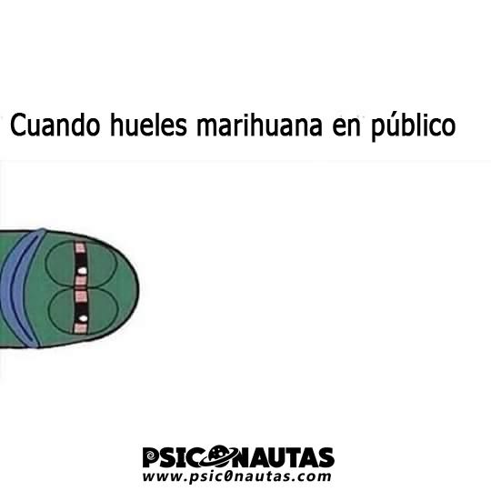 Marihuana en publico