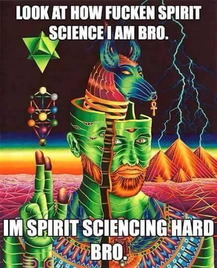 Science spiriting