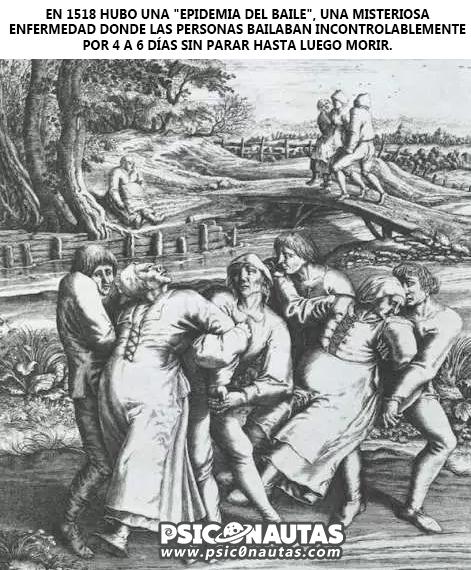 Epidemia del baile