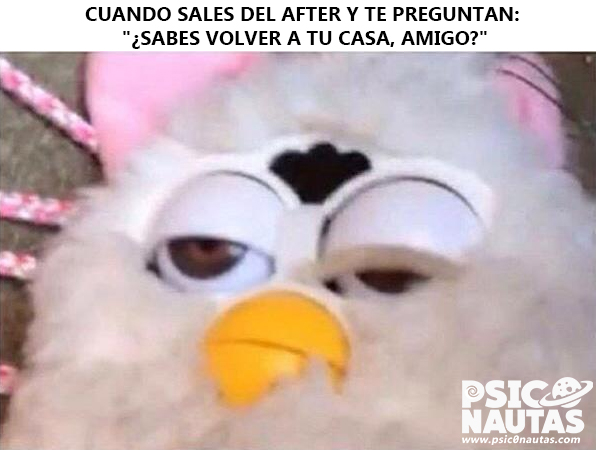 Cuando sales del after