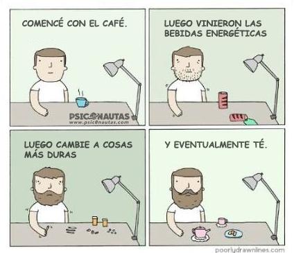 Comencé con el café…