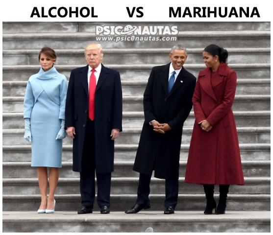 Alcohol Vs Marihuana