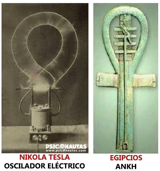 Nikola Tesla y los Egipcios.