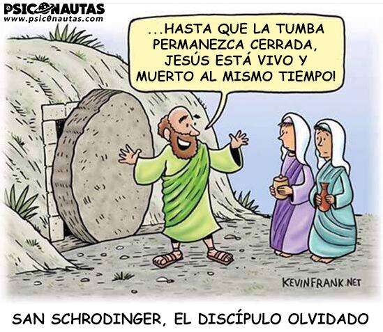 Hasta que la tumba permanezca cerrada, Jesús está vivo y muerto al mismo tiempo!