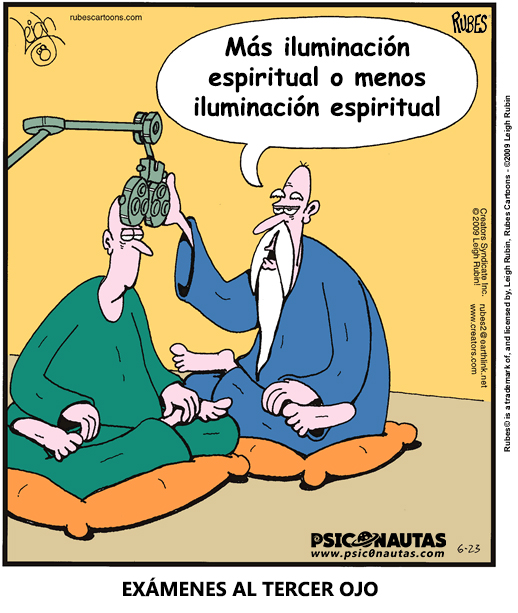 Más iluminación espiritual o menos