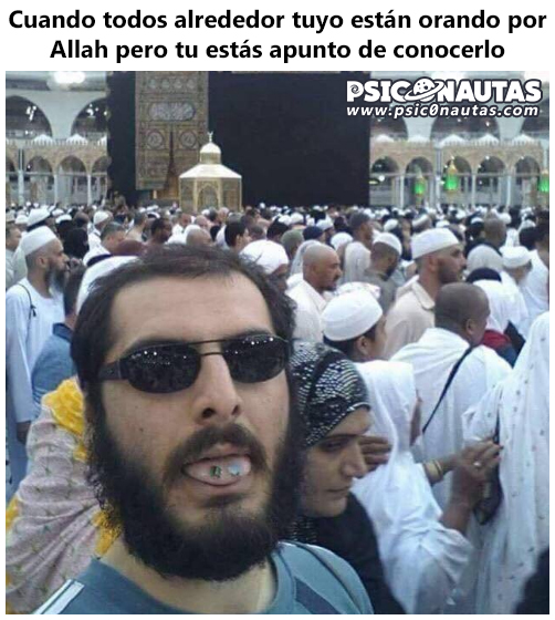 Cuando todos alrededor tuyo están orando por Alláh…