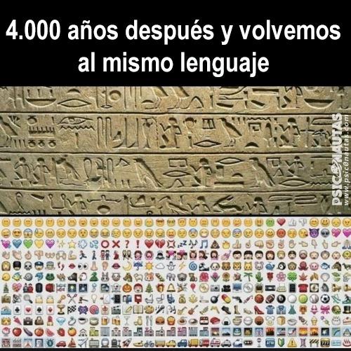 4.000 años después y volvemos al mismo lenguaje