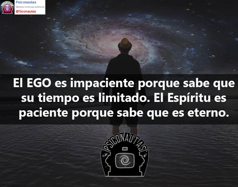 El espíritu es eterno, el ego temporal