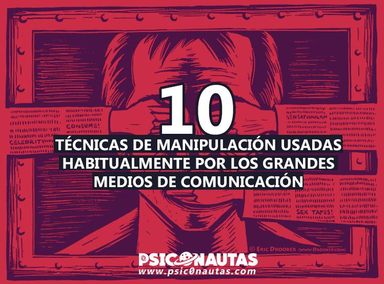 Diez técnicas de manipulación usadas habitualmente por los grandes medios de comunicación