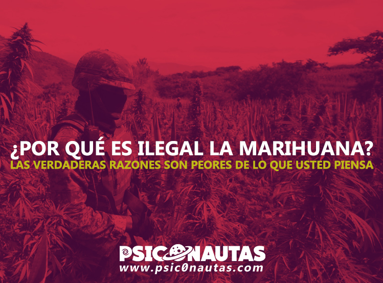 ¿Por qué es ilegal la Marihuana? – Las verdaderas razones son peores de lo que usted piensa