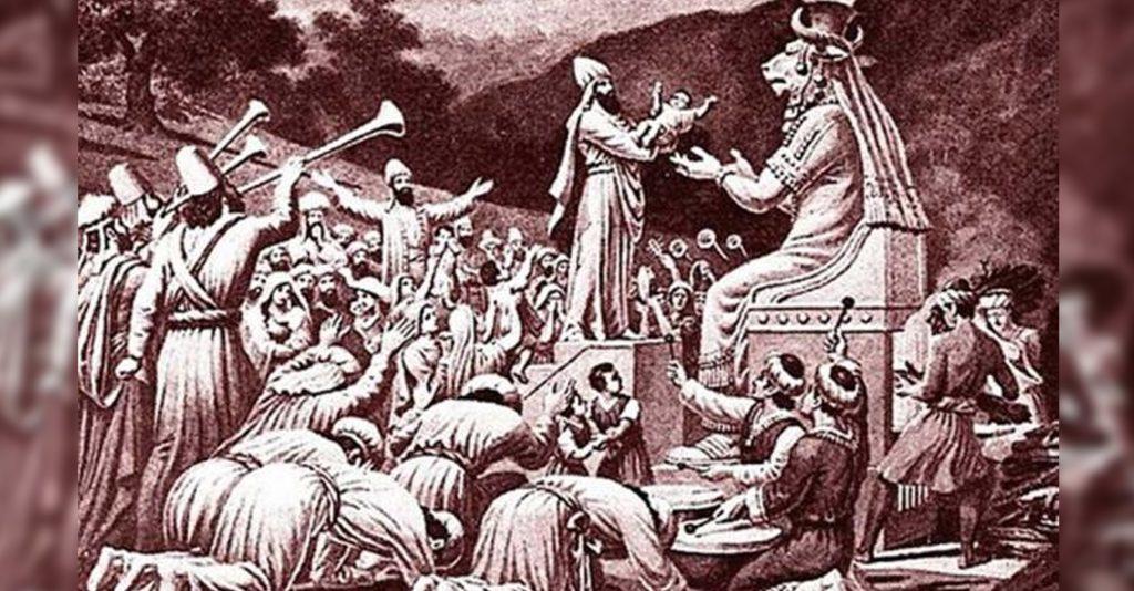 LA HISTORIA DE MOLOCH: El Antiguo Dios del Sacrificio de Niños