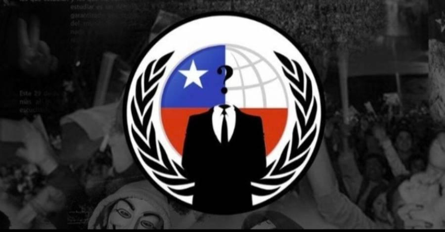 VIDEO: Mensaje de Anonymous para Sebastian Piñera y el Gobierno de $hile
