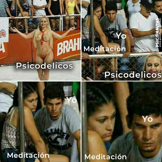Meditacion psicodelicos yo
