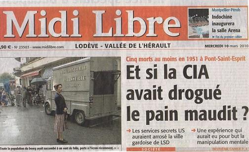 ¿Experimentó la CIA con LSD en la ciudad Francesa en 1951?