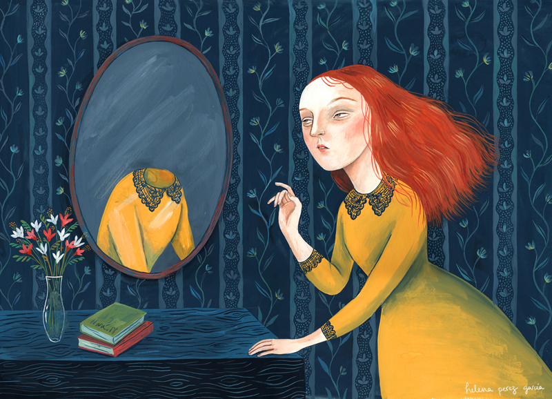Los Espejos en las creencias espirituales y metafísicas