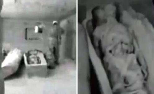 """Proyecto ISIS: La KGB descubre el cuerpo momificado de un antiguo """"Dios"""" alienígena"""
